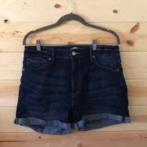 Express high rise jean shorts. Size 10.